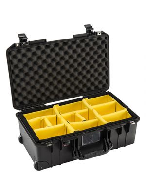 Pelican 1535 Air Wheeled Carry on Padded Dividers