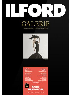 Ilford Galerie Gold Fibre Gloss A2 (25 Sheets) 310 gsm