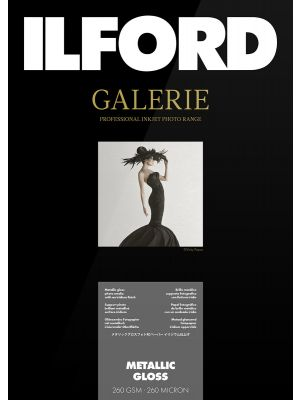 Ilford Galerie Metallic Gloss A2 (25 Sheets) 260 gsm