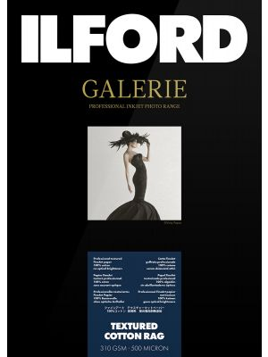 Ilford Galerie Textured Cotton Rag A3+ (25 Sheets) 310 gsm