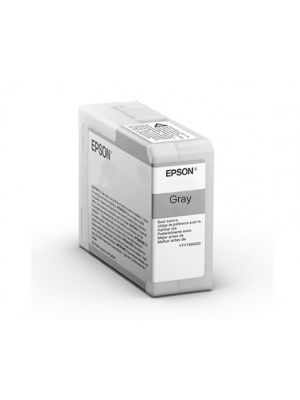 Epson SC-P906 Pro-10 Grey 50ml Ink T47A7
