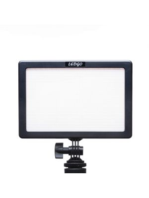 LEDGO LUXPAD 116 soft on camera LED light with Battery & Charger with Remote option