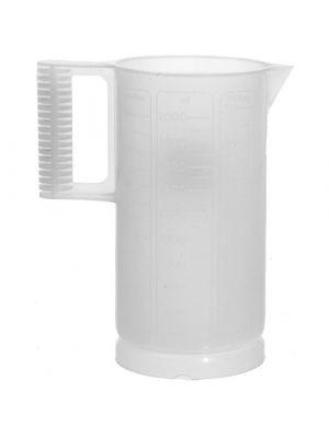 Paterson Plastic Beaker (Ounce and Metric Graduations) 64oz PTP310
