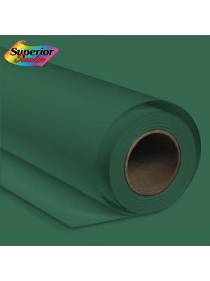 Superior Seamless 12 Deep Green Background Paper Roll 2.72m