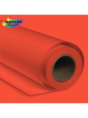 Superior Seamless 39 Bright Orange Background Paper Roll 2.72m