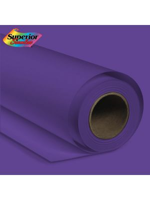 Superior Seamless 68 Deep Purple 2.72m Background Paper Roll