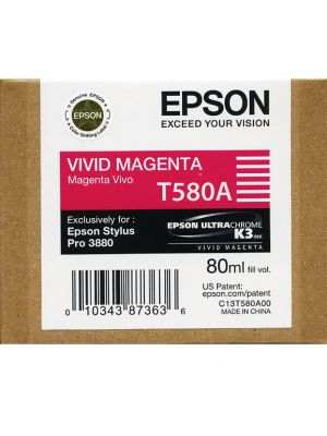 Epson 3880 T580A Vivid Magenta ink (80ml)