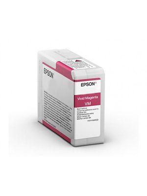 Epson SC-P906 Pro-10 Vivid Magenta Ink 50ml T47A3